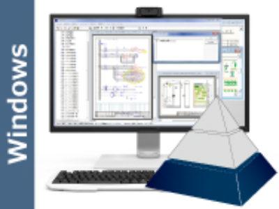 Unidraf2010 盤用CAD ・・・ ローコストで電気CADが使える『エントリーモデル』(日本語版)